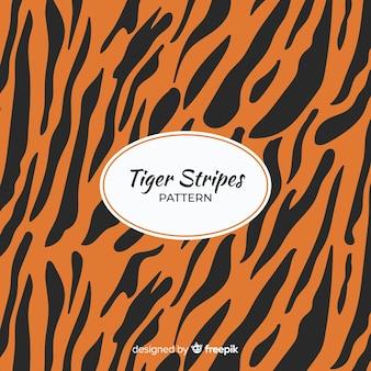 Padrão de listras de tigre