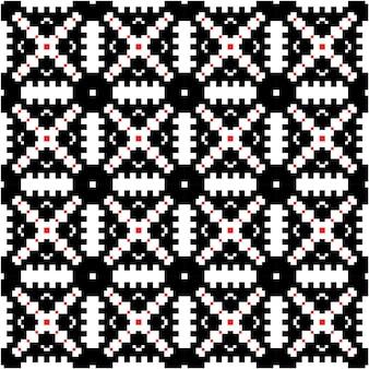 Padrão de luxo mozaico com fundo de estilo motivo