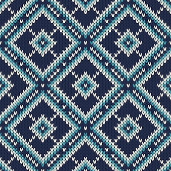 Padrão de malha abstrata. textura de lã de tricô sem emenda. design de camisola de malha