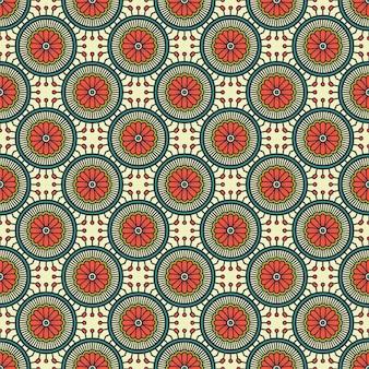 Padrão de mandala ornamental de luxo