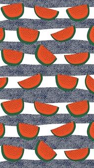 Padrão de melancia