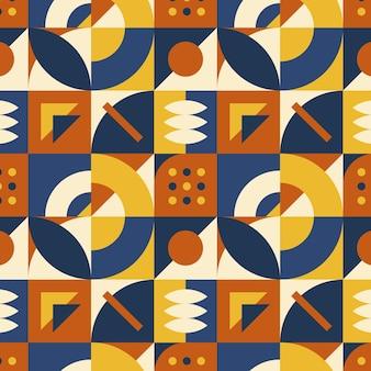 Padrão de mosaico plano