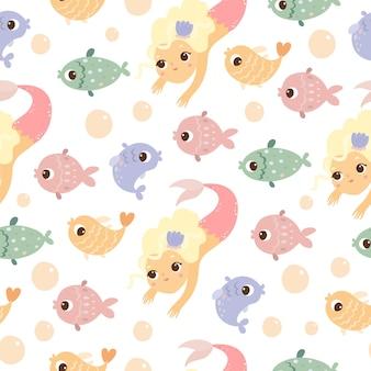 Padrão de mundo subaquático