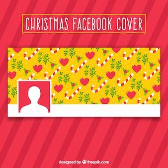 Padrão de natal - capa para facebook