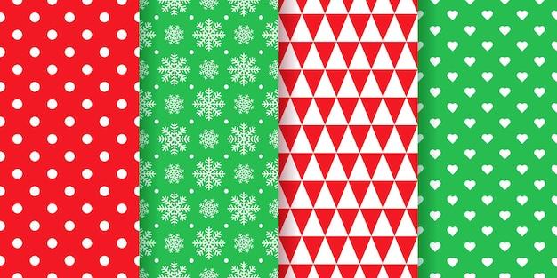 Padrão de natal. natal, papel de embrulho de textura perfeita de ano novo. impressão geométrica de férias. ilustração