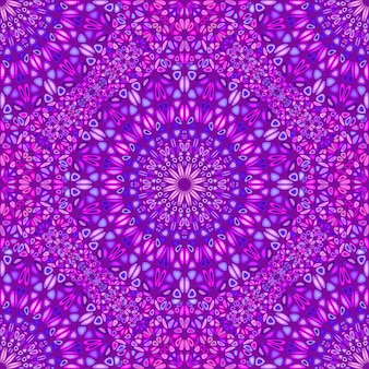 Padrão de ornamento abstrato geométrico mandala sem emenda