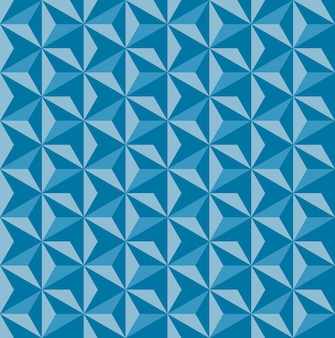 Padrão de ornamento de asanoha sem costura textura de rocha impressão de formas triangulares repetidas