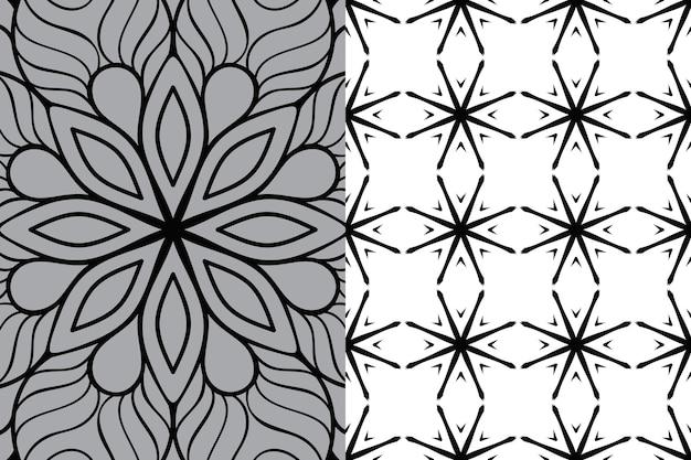 Padrão de ornamento de mandala. elementos decorativos vintage