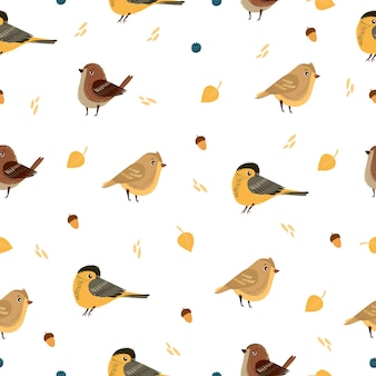 Padrão de pássaro