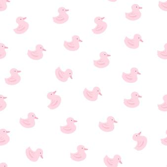 Padrão de pato de borracha