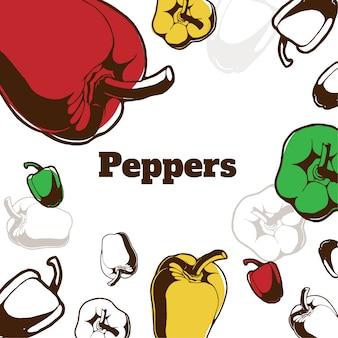 Padrão de pimentas