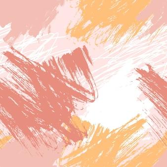 Padrão de pincelada abstrata