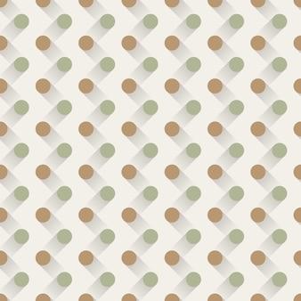 Padrão de pontos, fundo geométrico abstrato. ilustração de estilo criativo e elegante