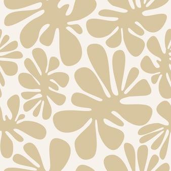 Padrão de safári moderno sem costura em tons naturais de marrom, formas abstratas, fundo de manchas de camuflagem,