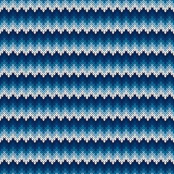 Padrão de suéter de malha abstrata chevron