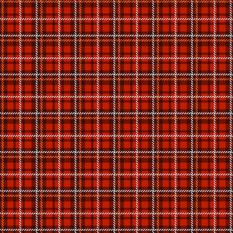 Padrão de tartan sem emenda. xadrez tradicional em tecido escocês. fundo quadriculado do vetor.