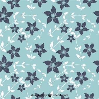 Padrão de tecido floral