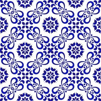 Padrão de telha cerâmica