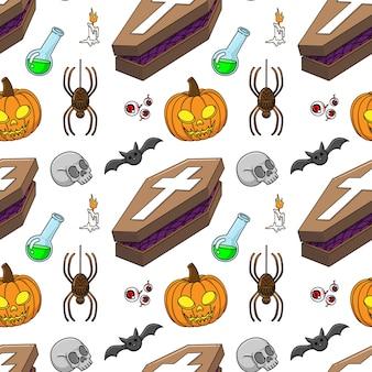 Padrão de tema de halloween