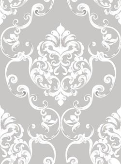 Padrão de textura barroca rococó
