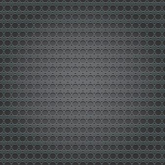 Padrão de textura de grade de placa de metal