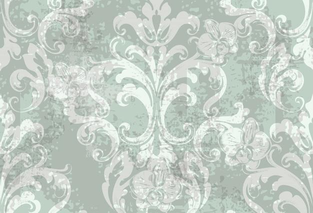 Padrão de textura floral