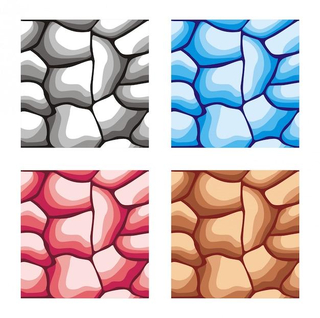 Padrão de textura sem emenda de pedra