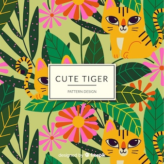 Padrão de tigre amigável