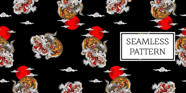 Padrão de tigre balinês