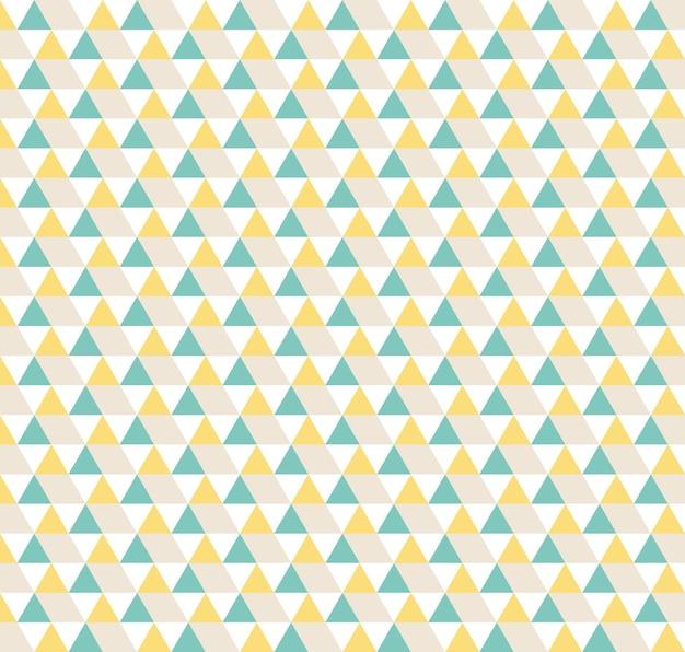 Padrão de triângulo. fundo geométrico simples. ilustração de estilo criativo e elegante