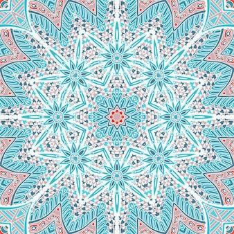 Padrão de vetor abstrato de fundo gelado de inverno abstrato