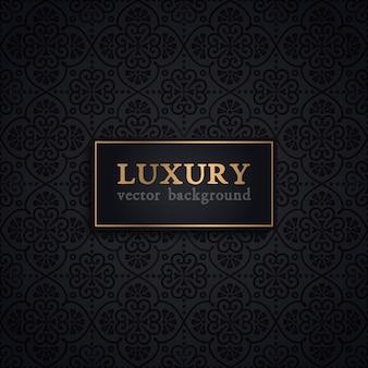 Padrão de vetor de luxo