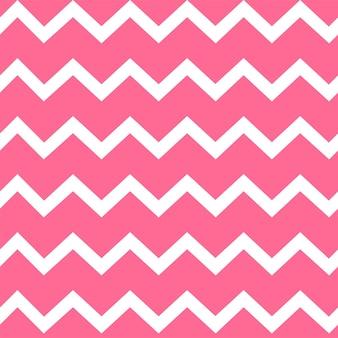 Padrão de vetor sem costura zig zag rosa. plano de fundo padrão sem emenda brilhante. projeto brilhante de ilustração vetorial.