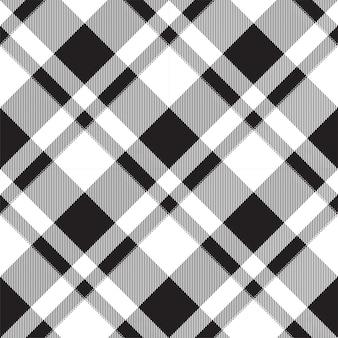 Padrão de xadrez sem costura tartan escócia. fundo retrô. praça de seleção vintage cor geométrica.