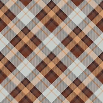 Padrão de xadrez sem costura tartan escócia. tecido de fundo retrô. praça de seleção vintage cor geométrica.