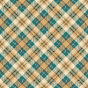 Padrão de xadrez sem costura tartan escócia. tecido de fundo retrô. textura geométrica quadrada de cor vintage seleção.