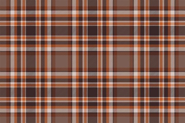 Padrão de xadrez sem costura tartan escócia. tecido retrô. textura geométrica quadrada de cor vintage cheque.