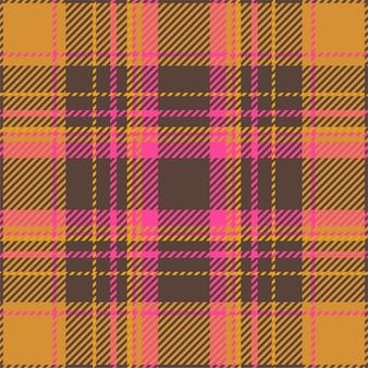 Padrão de xadrez sem costura tartan escócia. textura geométrica de tecido de fundo retrô para impressão têxtil, papel de embrulho, cartão de presente, design plano de papel de parede.