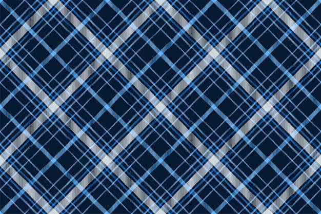 Padrão de xadrez sem costura tartan escócia. textura geométrica quadrada de cor vintage cheque.