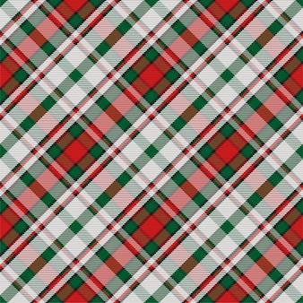 Padrão de xadrez sem costura tartan escócia. textura geométrica vintage