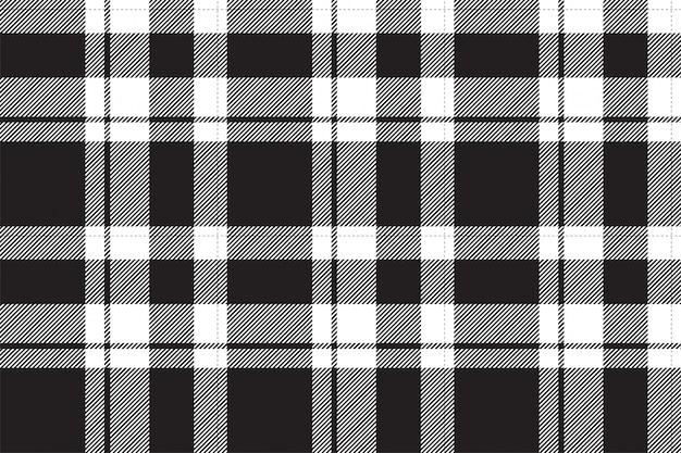 Padrão de xadrez sem costura tartan escócia