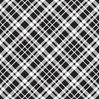Padrão de xadrez sem costura tartan escócia.