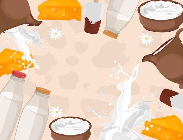 Padrão dos produtos lácteos frescos