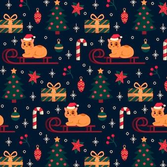 Padrão engraçado de natal