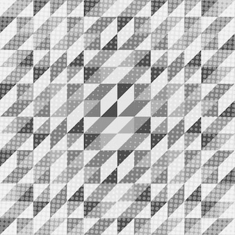 Padrão escandinavo geométrico preto e branco