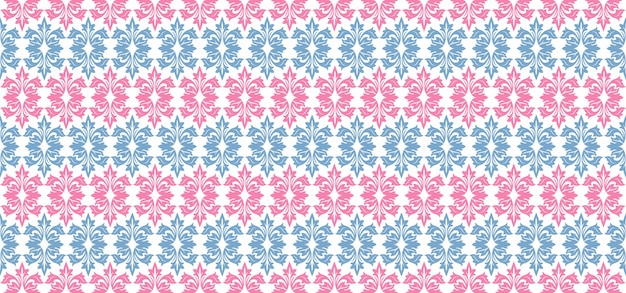 Padrão europeu ornamental floral background