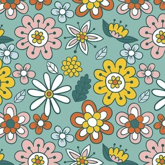 Padrão floral elegante
