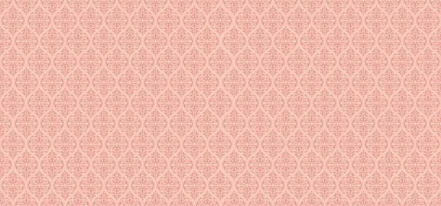 Padrão floral rosa ornamental fundo floral