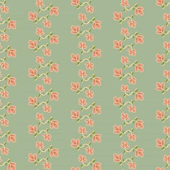 Padrão floral sem costura com flores pequenas