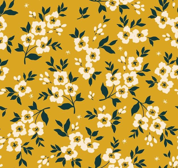 Padrão floral sem costura para design